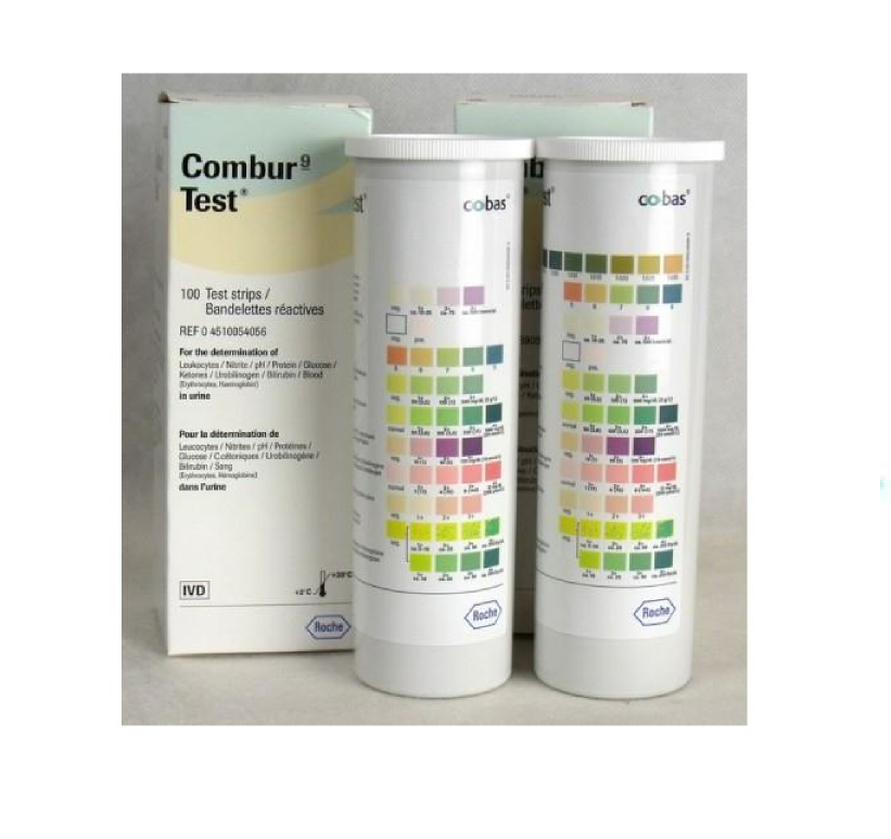 combur test how to read results